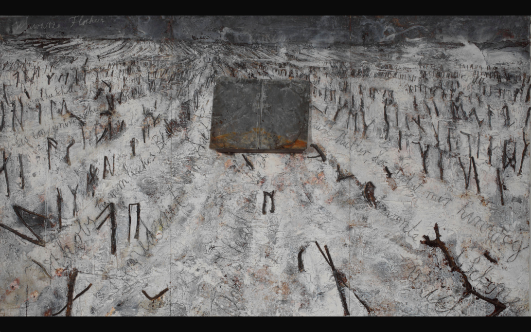 Anselm Kiefer, Royal Academy, Maria Martinez ugartechea, art review